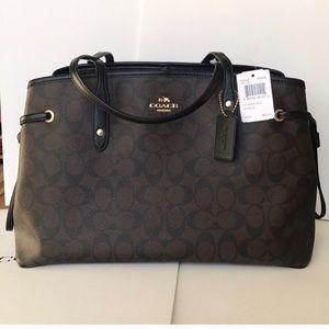 🌸❤️coach carryalldrawstring Tote❤️shoulder bag